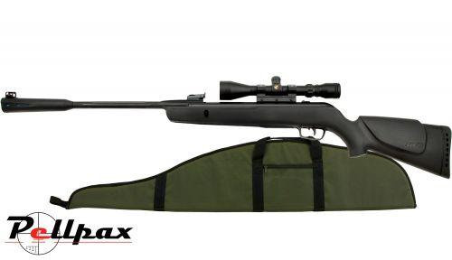 Gamo Whisper Sting .22 Pellet Spring Rifle + Bag - Second Hand