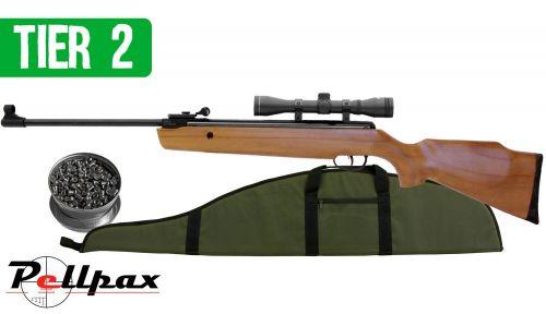 Garden Pest Controller Air Rifle Kit .22