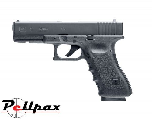 Glock 17 Dual Ammo 4.5mm BB / .177 Pellet CO2 Pistol + Hard Case - Second Hand
