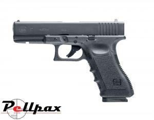 Glock 17 Dual Ammo - 4.5mm BB & .177 Pellet Air Pistol