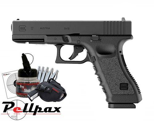 Glock 17 Combat Kit - 4.5mm BB Air Pistol