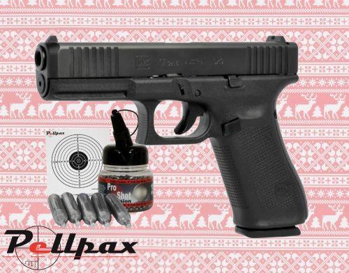 Glock 17 Gen5 Full Kit - 4.5mm BB Air Pistol
