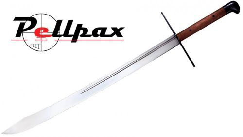 "Cold Steel Grosse Messer Sword - 32"" Blade with Leather Scabbard"
