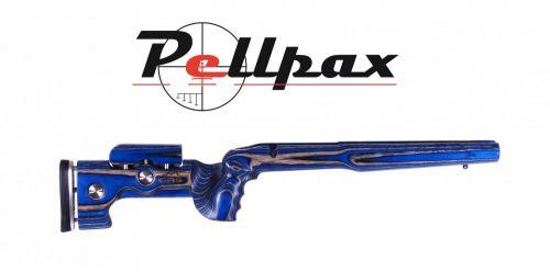 GRS Laminated Sporter Varminter - Short Action Howa M1500 RH - Blue