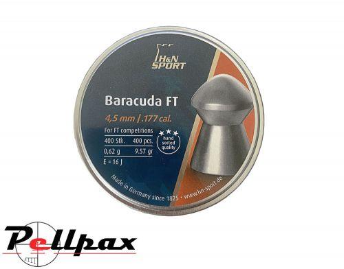 H&N Baracuda FT - .177 (4.50mm) Pellets x 400