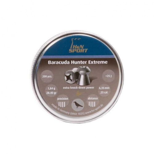 H&N Baracuda Hunter Extreme .25 Pellets x 200