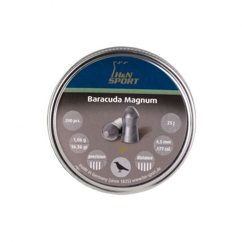 H&N Baracuda Magnum .177 Pellets x 200
