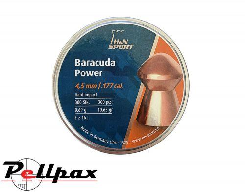 H&N Baracuda Power .177 Pellets x 300