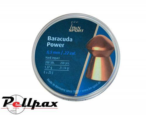 H&N Baracuda Power .22 Pellets x 200