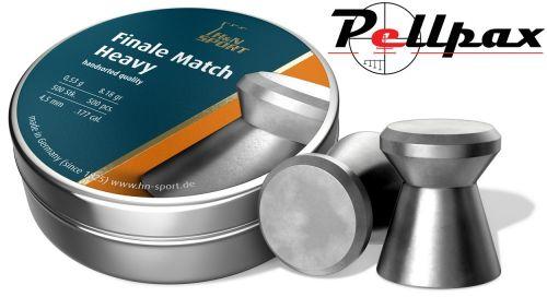 H&N Finale Match Heavy .177 (4.50mm) Pellets x 500