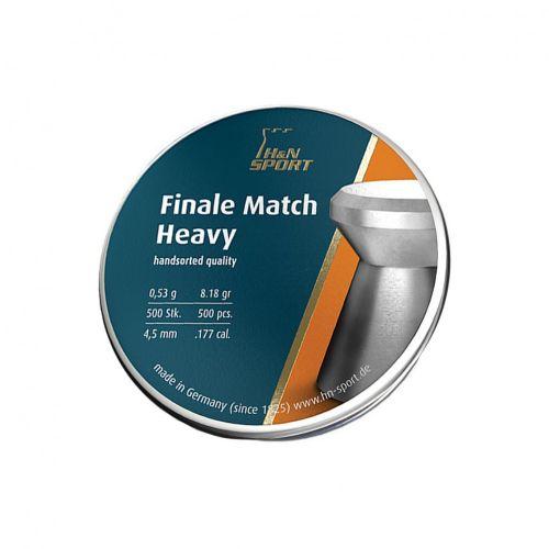 H&N Finale Match Heavy .177 (4.49mm) Pellets x 500