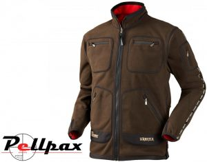 Harkila Kamko Fleece Jacket - Brown/Red