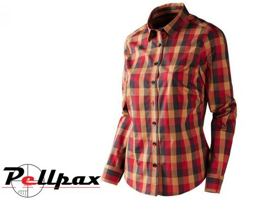 Harkila Lara Lady Shirt (Red/Black Check)