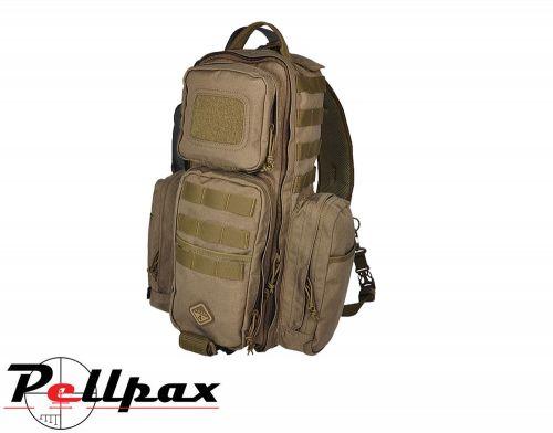 Hazard 4 Evac Rocket™ Tactical Urban Sling Pack - 20 Litres: Black / Coyote
