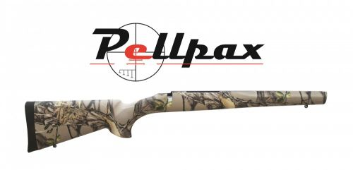 Hogue Rubber Overmoulded Stock - Long Action Sporter - Buffalo Camo