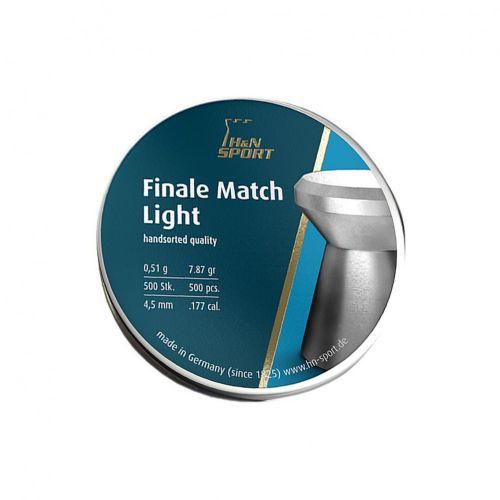 H&N Finale Match Light .177 (4.49mm) Pellets x 500