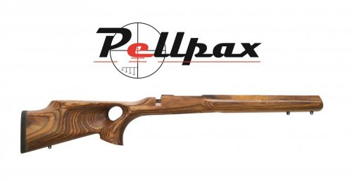 Howa Thumbhole Laminated Stock - Short Action Sporter - Nutmeg