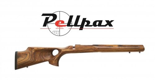 Howa Thumbhole Laminated Stock - Short Action Varmint - Nutmeg
