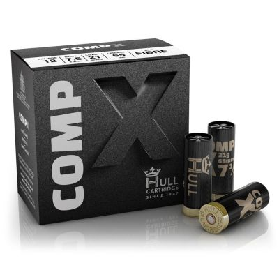 Hull Cartridge Comp X - 12G x 250 - 21g 7.5 Shot - Fibre