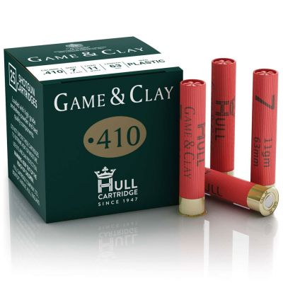 Hull Cartridge Game & Clay - 410G x 250