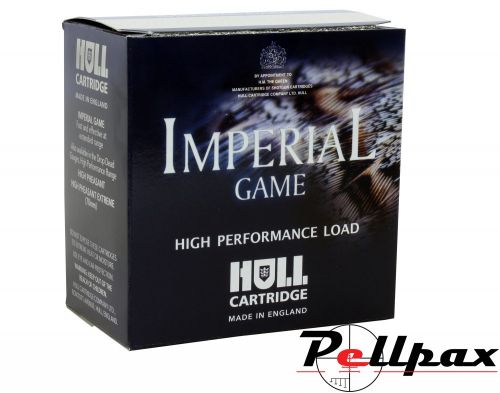 Hull Cartridge Imperial Game 30g 6 Shot - 12G