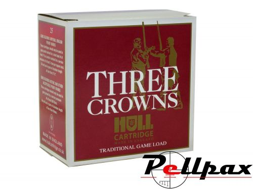 Hull Cartridge Three Crowns 28g 6 Shot - 12G