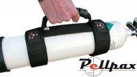 Airgun Charging Bottle Webbed Cylinder Carry Handle
