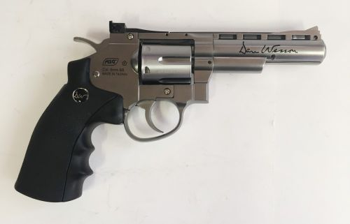 """Dan Wesson 4"""" Revolver - 6mm Airsoft - Shop Soiled"""