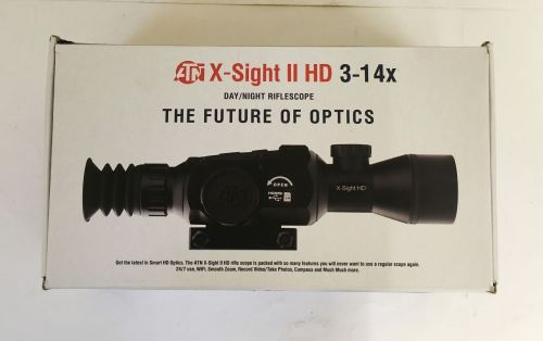 ATN X-Sight II HD 3-14x Day/Night Vision Rifle Scope - Ex Display