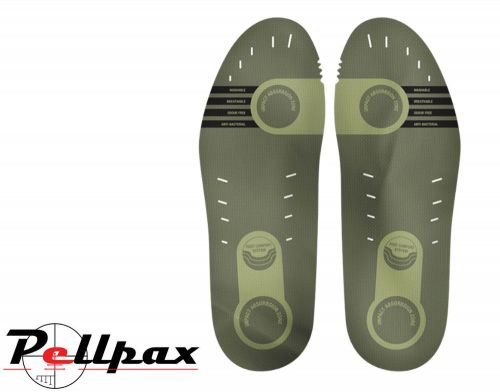 Technical Insoles By Jack Pyke in Green