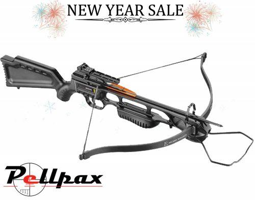 EK Archery Jaguar 150lbs Recurve Crossbow - Black