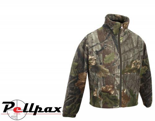 Junior Fieldman Fleece Jacket By Jack Pyke in English Oak Evolution