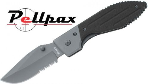 Ka-Bar Warthog Folder Serrated Knife