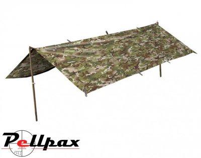 Kombat UK Basha Tarp Survival / Camping Shelter