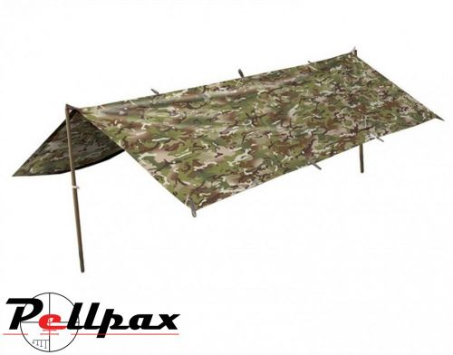 Kombat UK Basha Tarp Survival / Camping Shelter