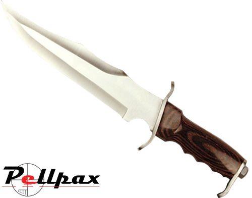 """Kombat UK 10"""" Fixed Blade Bowie Knife"""