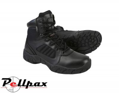 Kombat UK 6 Inch Half Leather Tactical Pro Boot - Black