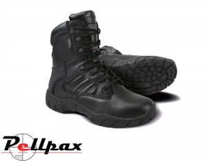 Kombat UK Mens All Leather Patrol Boot - Black