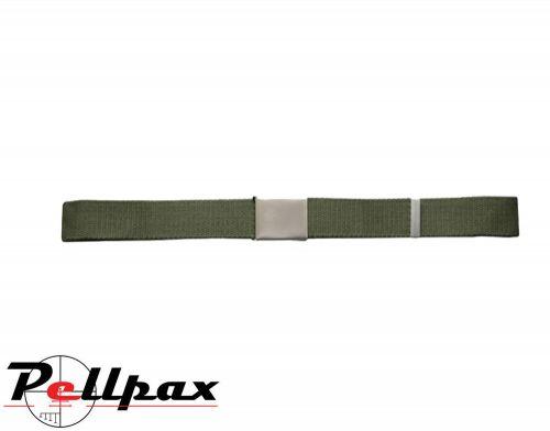 Kombat UK Army Style Clasp Belt: Olive Green / Black
