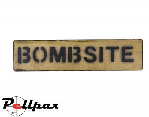Kombat UK Bombsite Sign