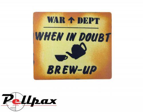 Kombat UK Brew Up Sign