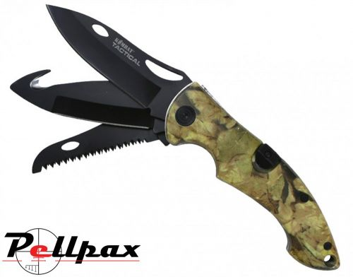 Kombat UK Bushcraft Knife - Camo