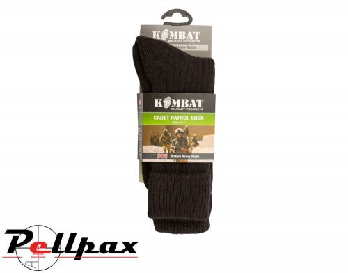 Kombat UK Military Army Cadet Socks - Black