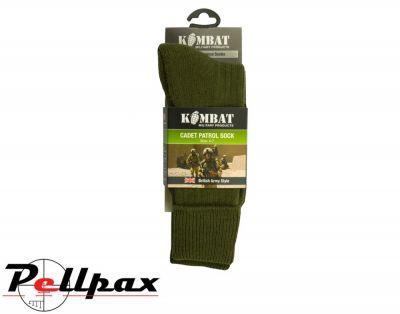 Kombat UK Military Army Cadet Socks - Olive Green