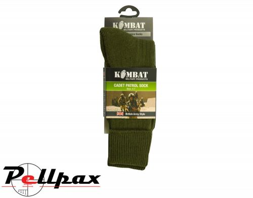 Kombat UK Military Army Cadet Socks - Olive Green