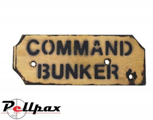 Kombat UK Command Bunker Sign