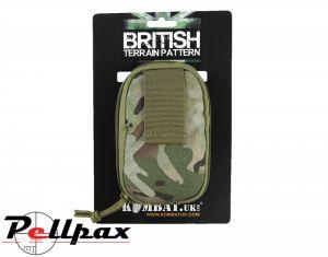 Kombat UK Covert Military Dump Pouch: BTP / Black / Coyote