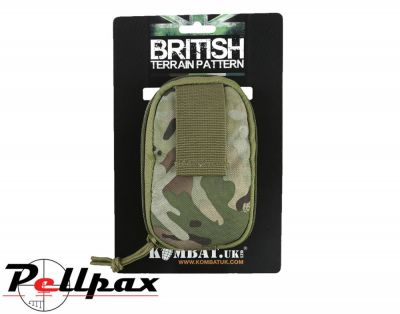 Kombat UK Covert Military Dump Pouch: BTP / Black / Coyote