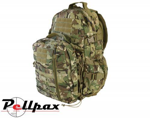 Kombat UK Defender Camo Military MOLLE Backpack Pack - 60L