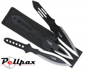 Kombat UK Deluxe Triple Throwing Knife Set